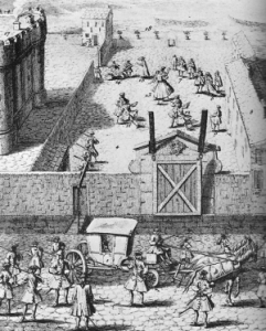 Convulsionnaires confined to the Bastille 300x374