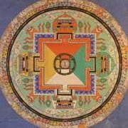 Mandala of the Vajrayana Diamond vehicle