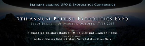 Exopolitics GB Leeds Conference October 2015