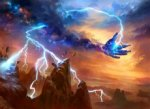 Lightning-Strike-Theros-by-Adam-Paquette
