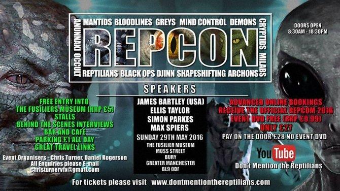 repcon conference flyer