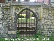 rewley abbey